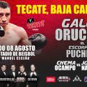 'Gallito' Orucuta este sábado en Tecate, Bajacalifornia